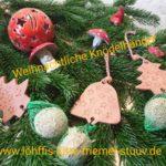 weihnachtliche Knödelanhänger